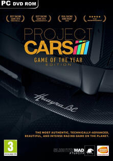 BANDAI NAMCO Entertainment Project Cars: Game of The Year Edition, PC