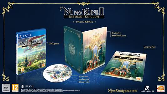 Ni No Kuni II: Il Destino di un Regno (Prince's Edition Limited) + Chibi Figurine - PS4