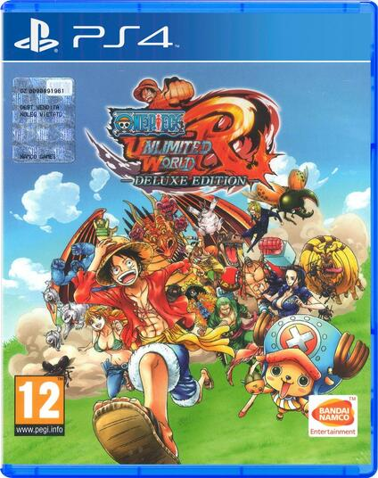 One Piece Unlimited World Red (Deluxe Edition) - PS4