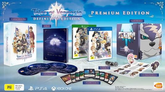 Tales Of Vesperia: Def.Ed. - Collector's Edition - PS4