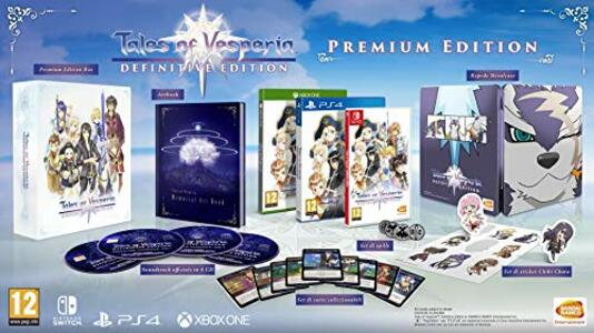 Tales Of Vesperia: Def.Ed. - Collector's Edition - Switch