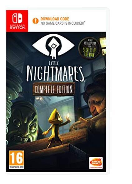 Little Nightmares Complete Edition (Code de téléchargement pour Switch dans la boîte pas de disque) [Edizione: Francia]