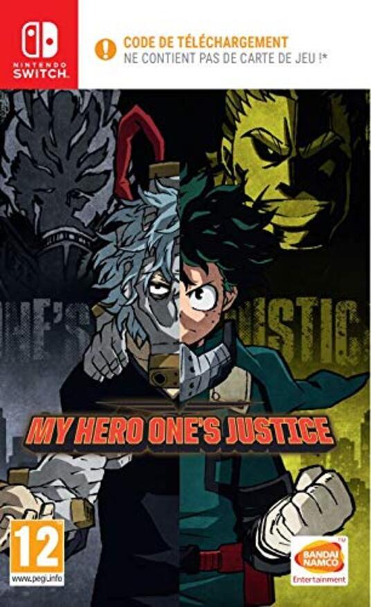 My Hero One's Justice (Code de téléchargement pour Switch dans la boîte pas de disque) [Edizione: Francia]