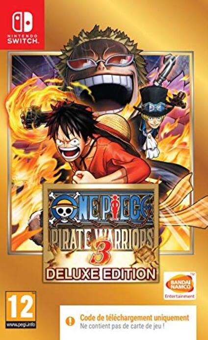 One Piece Pirate Warriors 3 Gioco per Nintendo Switch Codice in una scatola