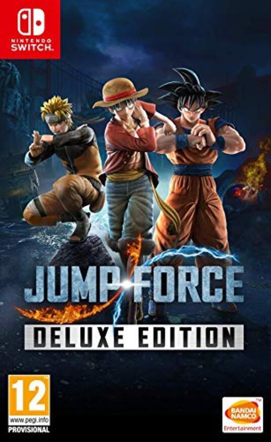 Jump Force Deluxe Edition Nintendo Switch Nintendo Switch [Edizione: Francia]