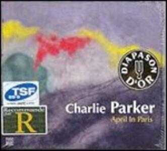CD April in Paris Charlie Parker