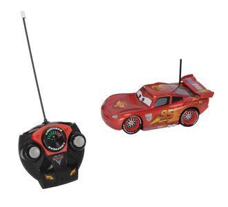 Giocattolo Majorette. Cars. Saetta McQueen Metallic 1:24 con Radiocomando Majorette 1