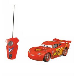 Giocattolo Auto Radiocomandata Saetta McQueen. Cars. 1 Canale Majorette 1