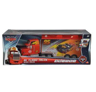 Giocattolo Majorette. Cars. Carbon Racers. Mack Truck 1:24 con Luci e Suoni e Radiocomando e Rimorchio Removibile A Comando Majorette 0
