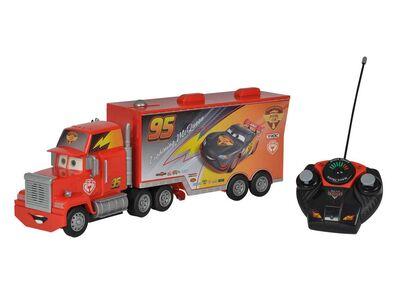 Giocattolo Majorette. Cars. Carbon Racers. Mack Truck 1:24 con Luci e Suoni e Radiocomando e Rimorchio Removibile A Comando Majorette 1