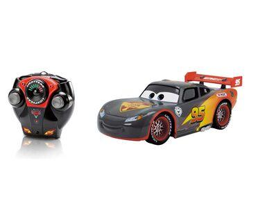 Giocattolo Majorette. Cars. Carbon Racers. Saetta McQueen 1:16 con Radiocomando Majorette 1