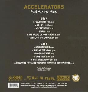 Fuel for the Fire - Vinile LP di Accelerators - 2