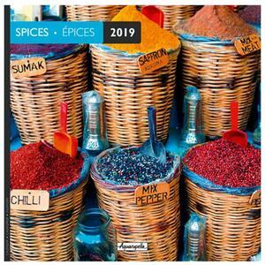 Calendario 2019 Spezie Aquarupella. Epices - 30x30