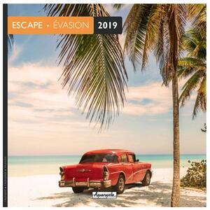 Calendario 2019 Fuga Aquarupella. Evasion - 30x30