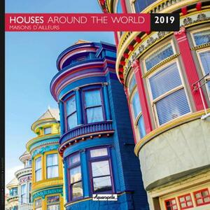 Calendario 2019 Case dal mondo Aquarupella. Maison d'ailleurs - 30x30