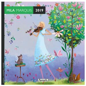 Calendario 2019 Mila Marquis Aquarupella - 16,5x16,5