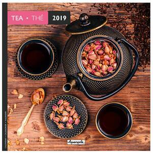 Calendario 2019 Tè Aquarupella. The - 16,5x16,5