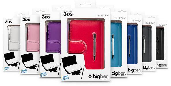 Bigben Interactive Flip & Play Protector, Nintendo 3DS - 3