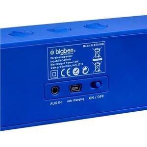 Bigben Interactive BT01GB Mono portable speaker 3W Blu, Rosso, Bianco altoparlante portatile - 16