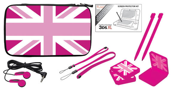BB Pack UK Flag Pink 3DS XL - 3