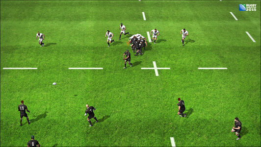 Videogioco Rugby World Cup 2015 PS Vita 1