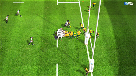 Videogioco Rugby World Cup 2015 PS Vita 3
