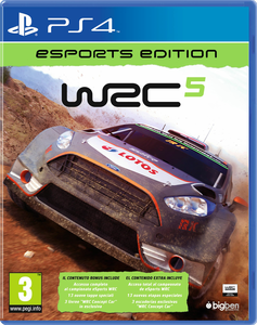 Videogioco WRC 5 eSport PlayStation4 0