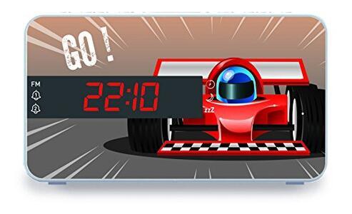 BB Radiosveglia Auto da corsa