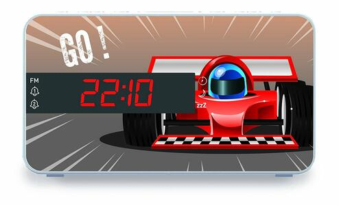 BB Radiosveglia Auto da corsa - 6