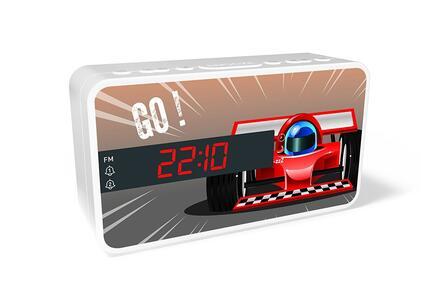 BB Radiosveglia Auto da corsa - 7