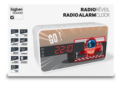 BB Radiosveglia Auto da corsa - 8