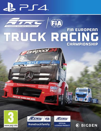 Bigben Interactive FIA European Truck Racing Championship videogioco PlayStation 4 Basic