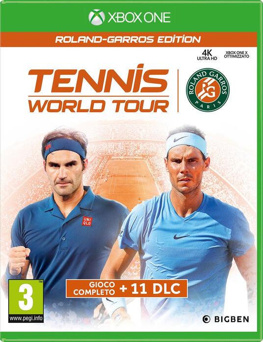 Bigben Interactive Tennis World Tour: Roland-Garros Edition videogioco Xbox One Ultimate
