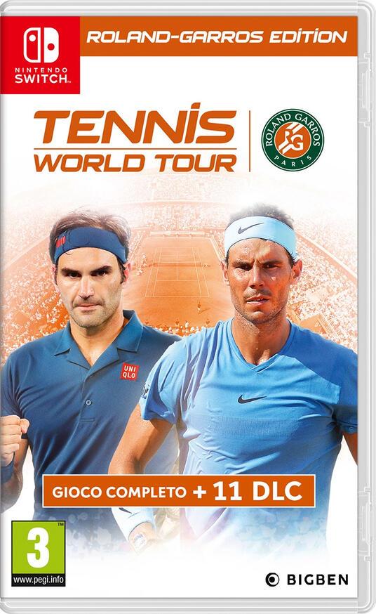 Bigben Interactive Tennis World Tour: Roland-Garros Edition videogioco Nintendo Switch Ultimate