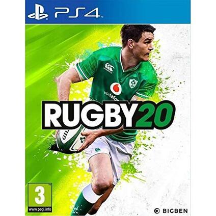 Gioco RUGBY 20 per PS4