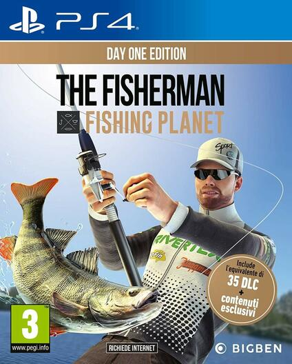PS4 FISHER Man: Fishing Planet PlayStation 4