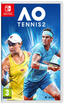 Bigben Interactive AO Tennis 2 videogioco Nintendo Switch Basic ITA