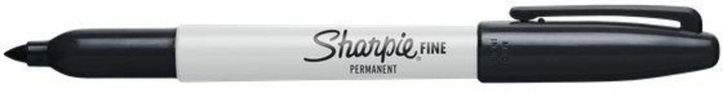 Marcatore permanente Sharpie fine nero punta tonda 1 mm