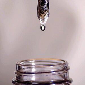 Flacone inchiostro Parker Pen Quink per stilografica nero 57 ml - 4