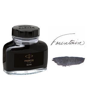 Flacone inchiostro Parker Pen Quink per stilografica nero 57 ml - 7