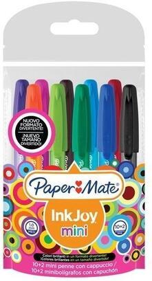 Penna Paper Mate InkJoy 100 medio. Confezione 5 pezzi