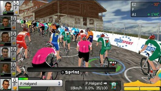 Videogioco Pro Cycling Manager 2007 Sony PSP 2