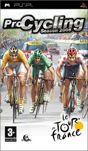Videogioco Pro Cycling Tour De France 08 Sony PSP 0