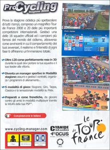 Videogioco Pro Cycling Tour De France 08 Sony PSP 4