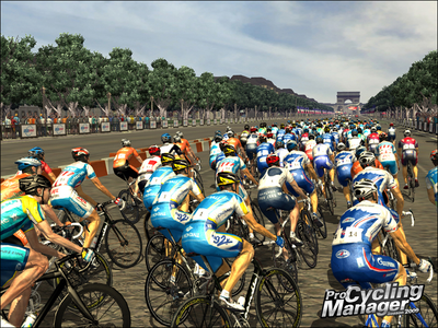 Videogioco Pro Cycling Manager Stagione 2009: Le Tour de France Sony PSP 7