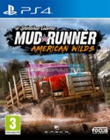 Spintires: Mudrunner American Wilds Edition - PS4