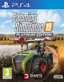 Focus Farming Simulator 19 Platinum Edition (PS4) videogioco PlayStation 4 Basic