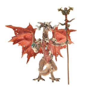 Giocattolo Dragons. Drago stregone rosso Plastoy 0