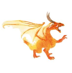 Giocattolo Dragons. Drago di fuoco Plastoy 0