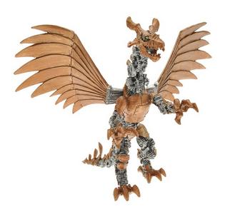 Giocattolo Dragons. Drago meccanico articolato Plastoy 0